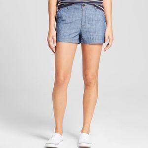 NWT!  Merona Chambray Shorts